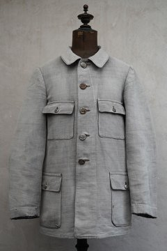 ~1930's gray cotton hunting jacket