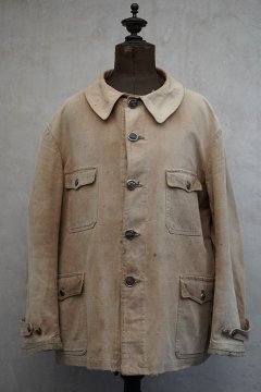 1940's linen cotton hunting jacket