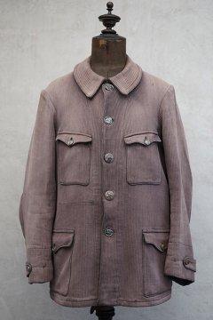 1930-1940's brown pique hunting jacket