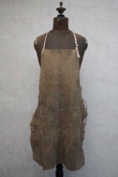 cir. 1930's-1940's blacksmith leather apron