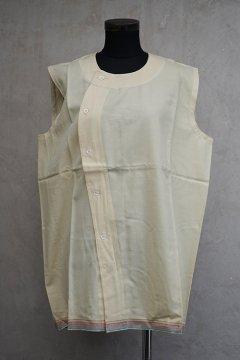 cir.1940's flannel gilet dead stock