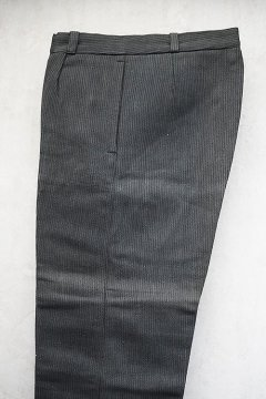 mid 20th c. gray pique work trousers dead stock
