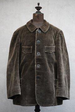 1930's brown cord hunting jacket