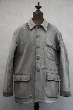 1940's-1950's gray pique hunting jacket