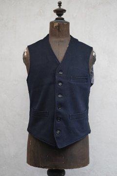 ~1940's navy wool work gilet