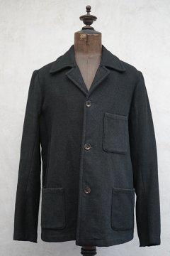 1930's-1940's black wool jacket
