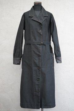 1930's-1940's black work coat