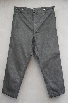 ~1930's gray striped trousers