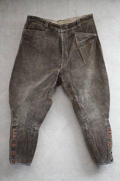 ~1940's brown corduroy jodhpurs