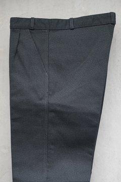 1950's-1960's dark gray pique work trousers dead stock 46