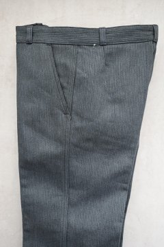 1950's-1960's gray pique work trousers dead stock 44