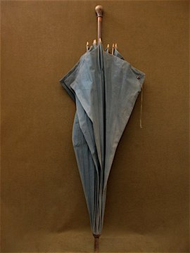 cir. early 20th c. shepherd's umbrella/parasol