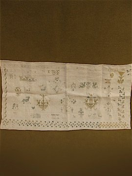 cir. 19th c. sampler