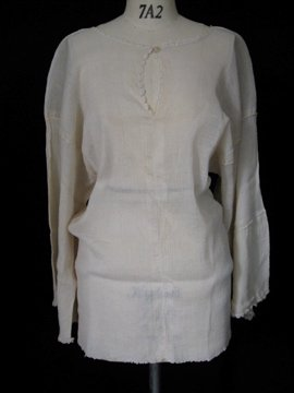 1900's Turkey silk cotton blouse