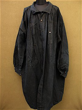 late 19th c. - 1900's indigo workwear