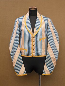 antique stripe jacket
