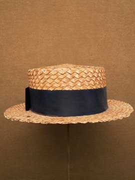cir. early 20th c. straw hat