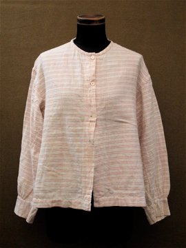 19th c. stripe blouse