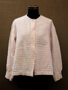 19th c. stripe blouse