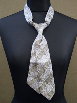 late 19th - early 20th c. silk tie