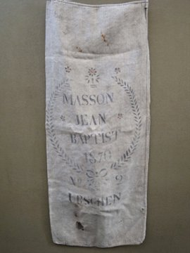 French linen sack 1870