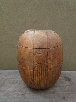 muff mold wood block