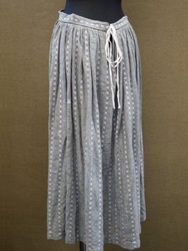 early 20th c. stripe skirt