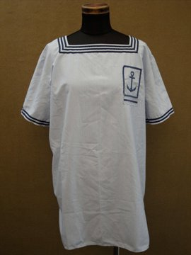 cir. 1970's blue sailor T-shirt