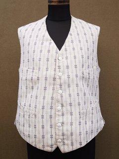 striped pattern waistcoat