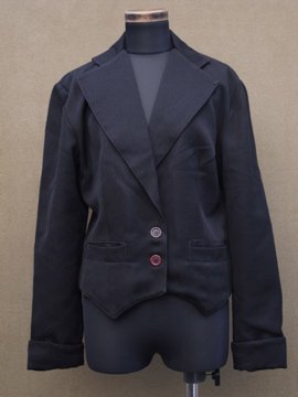 wool black jacket