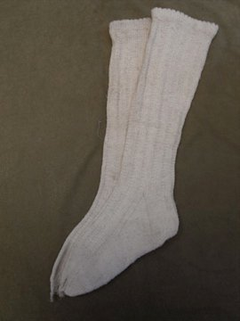 cir. early 20th c. kids socks