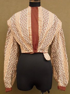 cir. 1850's printed top