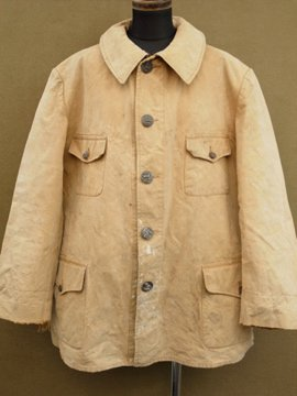 cir. 1920 -1940's canvas hunting jacket