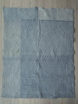 19th c. cotton quilt