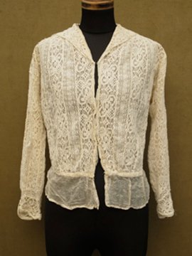 1910 - 1920's lace blouse