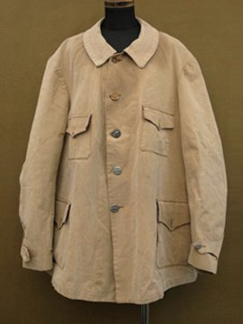 early 20th c. cotton hunting jacket