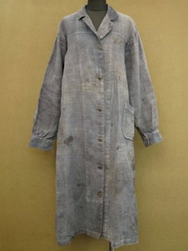 cir. 1910's linen work coat