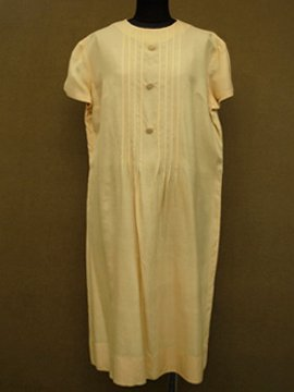 1930 - 1940's silk dress S/SL