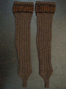 cir. early 20th c. wool socks
