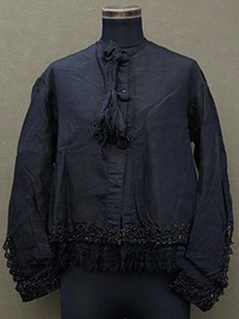 1900's beaded silk jacket