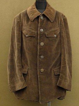 cir. 1930's cord hunting jacket