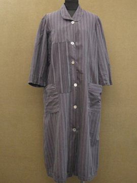 cir. 1930 - 1940's patched work coat / dress