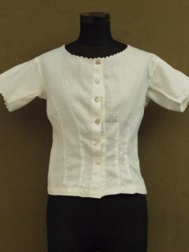 early 20th c. white blouse S/SL