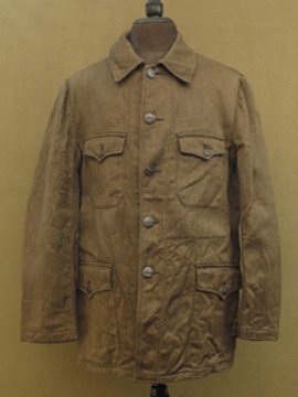 cir. mid 20th c. dead stock pique hunting jacket