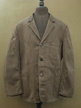 mid 20th c. pique jacket