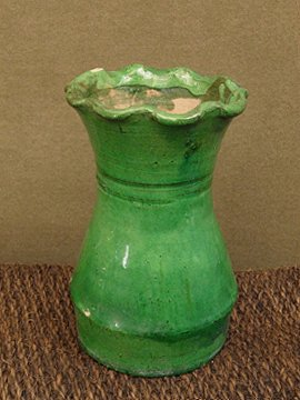 cir. 19th c. green vase
