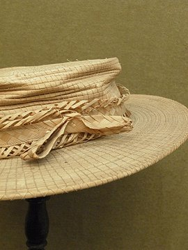late 19th c. straw hat