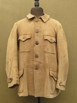 cir. 1930 - 1950's pique hunting jacket