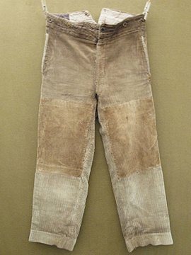 cir.1930's cord trousers