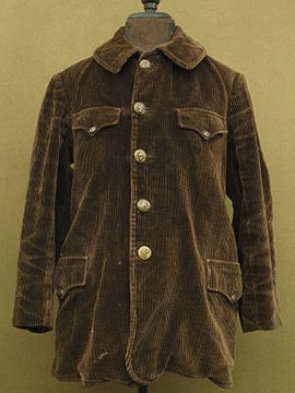 1930-1940's cord jacket